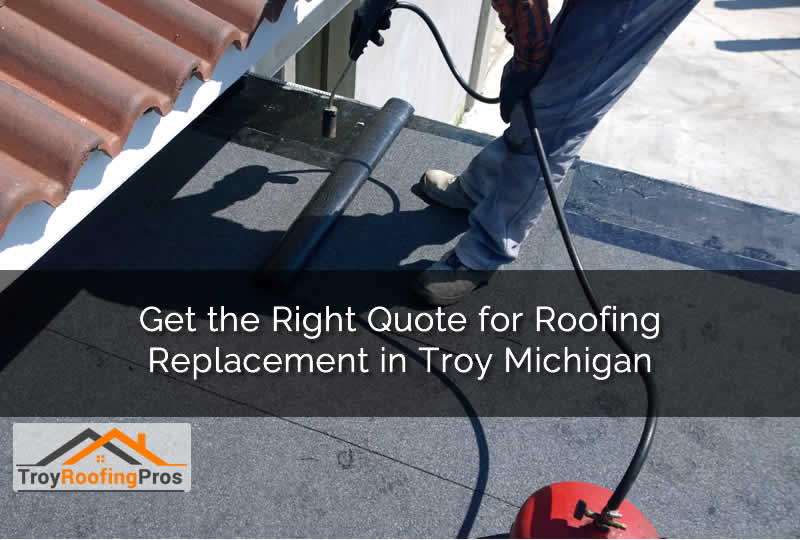 Troy Michigan Roof Replacement