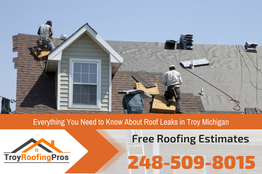 Everything You Need To Know About Roof Leaks In Troy Michigan Roofing Pros